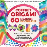 Coffret origami 60 nuances de couleur - Un livre avec 4 modèles et des instructions pas à pas. Avec 180 feuilles.pdf