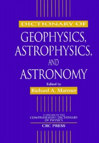 Deedr.fr Dictionary of geophysics, astrophysics, and astronomy Image