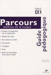 Richard Assuied et Anne-Marie Ragot - Maîtrise de la langue Parcours CE1 - Guide pédagogique.