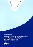 Richard Augugliaro - Concours Externe de Recrutement de Professeurs des Ecoles. - Epreuve Musique session 2004.