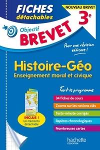 Richard Basnier - Histoire-Géo-Enseignement moral et civique 3e - Fiches détachables.