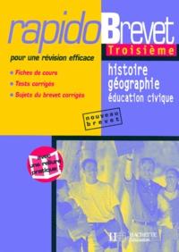 Richard Basnier - Histoire-géographie, éducation civique, troisième.