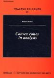 Richard Becker - Convex cones in analysis.