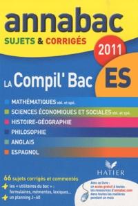 Richard Bréhéret et Jean-Marc Gauducheau - La Compil'Bac ES - Sujets et corrigés.