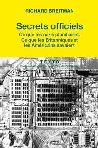 Histoiresdenlire.be Secrets officiels - Ce que les Nazis planifiaient, ce que les Britanniques et les Américains savaient Image
