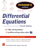 Richard Bronson et Gabriel Costa - Differential Equations.
