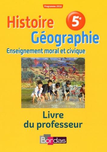 Histoire Geographie Emc 5e Livre Du Professeur Compact