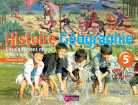 Histoire Géographie Enseignement moral et civique 5e - Richard Cartigny pdf epub