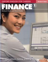 Richard Clark et David Baker - Finance 1 - Student's book.