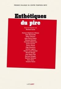 Richard Conte - Esthétiques du pire - Premier colloque du Centre Pompidou-Metz.
