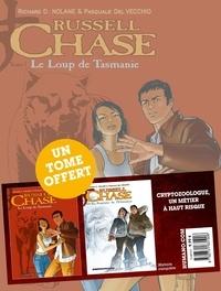 Richard D. Nolane et Pasquale Del Vecchio - Russell Chase  : Tome 1, Le Fantôme de l'Himalaya ; Tome 2, Le Loup de Tasmanie.