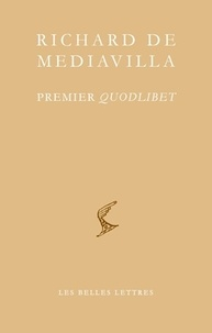 Richard de Mediavilla - Premier quodlibet.