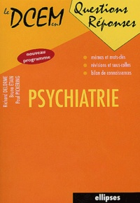 Richard Delorme et Bruno Etain - Psychiatrie.