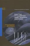 Richard Desjardins et Kjell Rubenson - Accès inégal à la formation pour adultes : perspectives internationales.