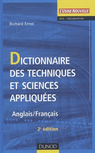 Richard Ernst - Dictionnaire des techniques et sciences appliquées - Anglais/Français.