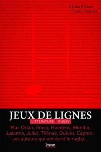 Richard Escot et Benoit Jeantet - Jeux de lignes - Littérature & Rugby.
