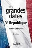 Richard Ghevontian - Les grandes dates de la Ve République.