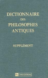 Birrascarampola.it Dictionnaire des philosophes antiques - Supplément Image