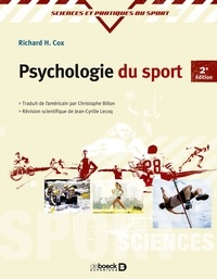Richard H. Cox - Psychologie du sport.