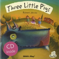 Richard Johnson - Three Little Pigs. 1 CD audio