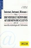Richard-L Nolan et  Collectif - Internet, intranet, réseaux - Mieux identifier et répondre aux besoins des clients grâce aux nouvelles technologies de l'information.
