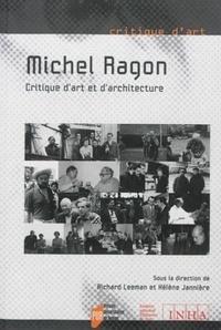 Richard Leeman et Hélène Jannière - MichelRagon, critiqued'artetd'architecture.