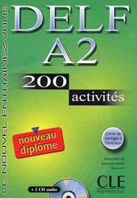 Téléchargements ebook gratuits pour Nook Simple Touch Delf A2  - 200 activités 9782090352450 (Litterature Francaise)