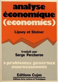 Analyse économique (economics) - Tome 1, Principes généraux et microéconomie.pdf