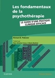 Richard Makover - Les fondamentaux de la psychothérapie - Le guide d'une pratique clinique efficace.