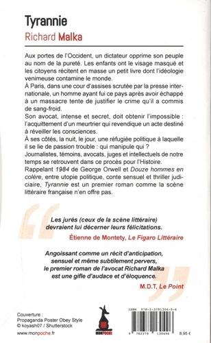 Tyrannie de Richard Malka - Poche - Livre - Decitre