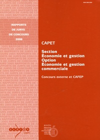 Birrascarampola.it CAPET section économie et gestion option économie et gestion commerciale - Concours externe et CAFEP Image