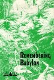 Richard McRoberts - Remembering Babylon - A Text Response Guide to David Malouf's.