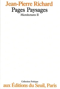 Richard - Microlectures Tome 2 - Pages paysages.