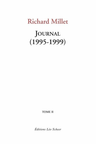 Journal - Richard Millet - Format PDF - 9782756112831 - 16,99 €
