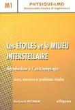 Richard Monier - Les étoiles et le milieu interstellaire - Introduction à l'astrophysique.