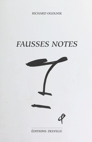 Fausses notes