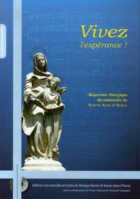 Richard Quesnel - Vivez l'espérance ! - Répertoire liturgique de Sainte-Anne d'Auray. 1 CD audio