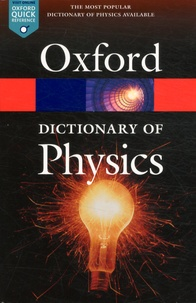A Dictionary of Physics - Richard Rennie | Showmesound.org