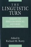 Richard Rorty - The Linguistic Turn - Essays in Philosophical Method.