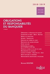 Richard Routier - Obligations et responsabilités du banquier.