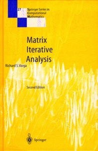Richard-S Varga - Matrix Iterative Analysis.