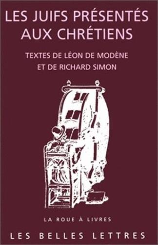 Richard Simon et Léon de Modene - .