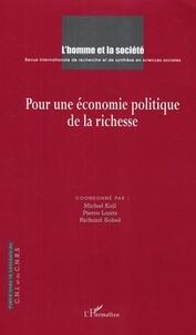 Richard Sobel - L'Homme et la société. - 156-157, Pour une économie politique de la richesse.