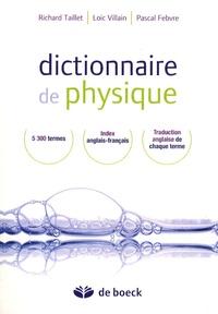 Dictionnaire de physique - Richard Taillet | Showmesound.org