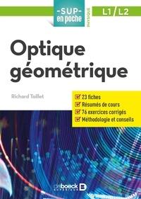 Richard Taillet - Optique géométrique.
