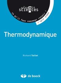 Richard Taillet - Thermodynamique - 1er cycle, prépas, concours.