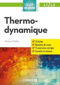 Richard Taillet - Thermodynamique.