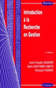 Richard Thorpe et Jean-Claude Usunier - .