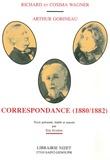 Richard Wagner et Cosima Wagner - Correspondance (1880-1882).