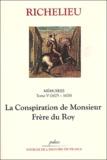Richelieu - Mémoires - Tome 5, (1625-1626), Monsieur frère du Roy.
